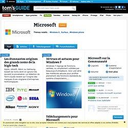 Les 15 fonctions incontournables d'Office 2013