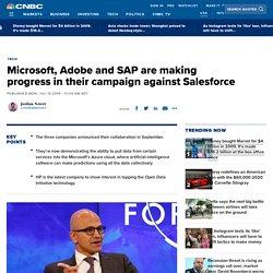 Microsoft, Adobe, SAP show demo for Open Data Initiative