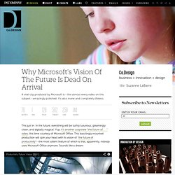 Why Microsoft's Vision Of The Future Is Dead On Arrival | Co. Design