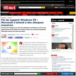 Fin du support Windows XP : Microsoft s'attend à des attaques massives