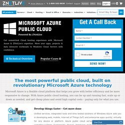 Best Microsoft Azure Public Cloud Hosting in India