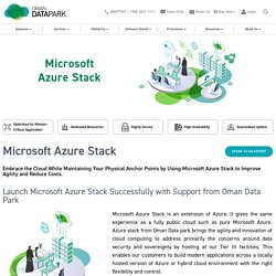 Microsoftazure Stack From Oman Data Park