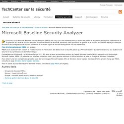 Baseline Security Analyzer
