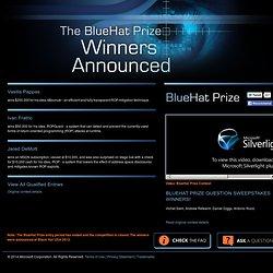 BlueHat Prize Contest