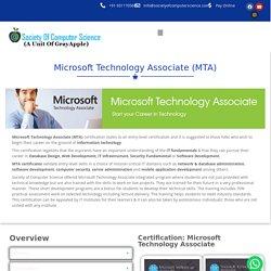 Microsoft Certification -