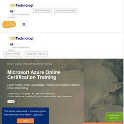 Microsoft Azure Online Training with Certification