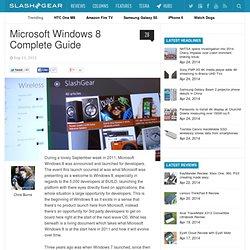 Microsoft Windows 8 Complete Guide