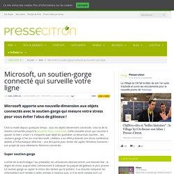 Microsoft, un soutien-gorge connecté qui surveille votre ligne