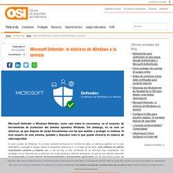 Microsoft Defender: el antivirus de Windows a tu servicio