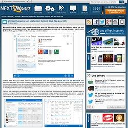 Microsoft dégaine son application Outlook Web App pour iOS - PC INpact