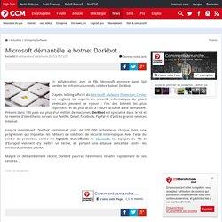 Microsoft démantèle le botnet Dorkbot