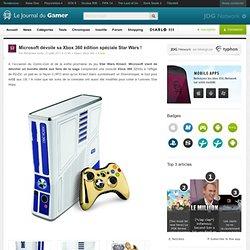 Microsoft dévoile sa Xbox 360 édition spéciale Star Wars !
