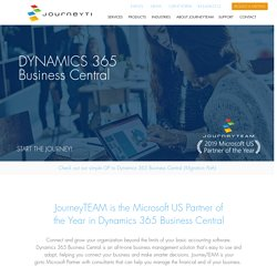 US Microsoft Partner of the Year in Dynamics 365 Business Central