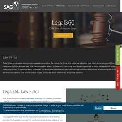 Microsoft Dynamics 365 Solutions for Law Firms