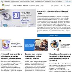 Microsoft Educação - Empoderar os alunos de hoje para criarem o mundo de amanhã.