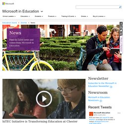 Microsoft in Education News