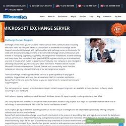 Microsoft Exchange Server Support Hosting