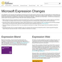 Expression Blend® 4 | Silverlight | Rich Internet Applications | XAML | WPF Applications | .NET Platform | TFS | VB | C# | Microsoft® Expression®
