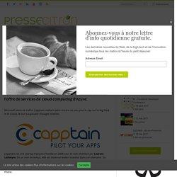 Microsoft s'offre la startup française Capptain