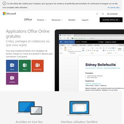Microsoft Office Online: Office gratuit - Word, Excel, PowerPoint