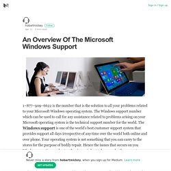 An Overview Of The Microsoft Windows Support