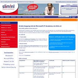 SLIM > MS IT Academy