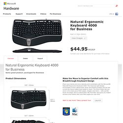 Microsoft - Natural Erogonomic Keyboard