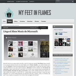 Microsoft lanza Xbox Music | My Feet In Flames