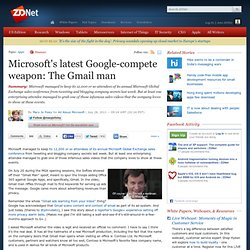 Microsoft's latest Google-compete weapon: The Gmail man