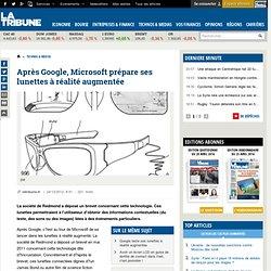 Microsoft prépare ses lunettes à réalité augmentée
