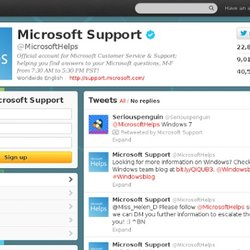 Microsoft Helps (MicrosoftHelps) on Twitter