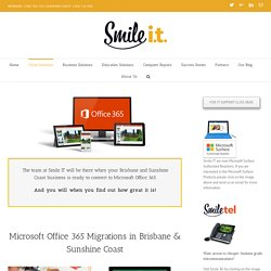 Microsoft Office 365 Migrations In Australia