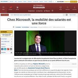 Chez Microsoft, la mobilité des salariés est une force