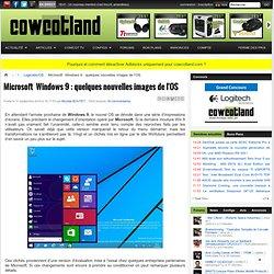 Microsoft Windows9 : quelques nouvelles images de l'OS - Logiciels/OS