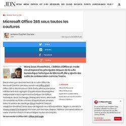 Microsoft Office 365sous toutes les coutures