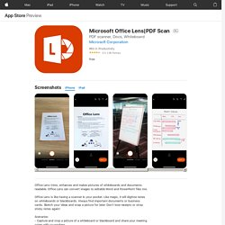 PDF Scan on the AppStore