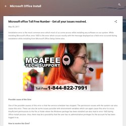 Microsoft office Toll Free Number - Get all your issues resolved.