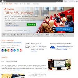 Office 365 University 2013