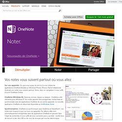 OneNote 2010 - Bloc-notes numérique collaboratif