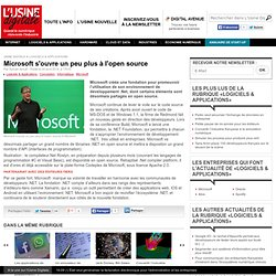 microsoft-s-ouvre-un-peu-plus-a-l-open-source