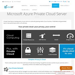 Microsoft Azure Private Cloud Server Best Cost India