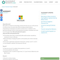 Buy Latest Placement Paper for Microsoft