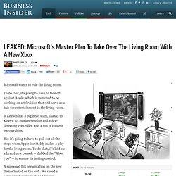Microsoft Xbox 720 Presentation