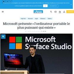 Microsoft présente « l'ordinateur portable le plus puissant qui existe » - le Parisien