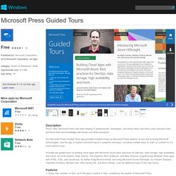 Press Guided Tours app for Windows in the Windows Store