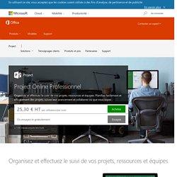 Microsoft Project pour Office 365 - Project en abonnement