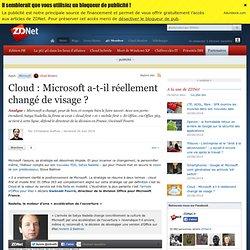 Cloud : Microsoft a-t-il réellement changé de visage ?