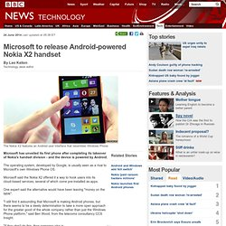 Microsoft to release Android-powered Nokia X2 handset