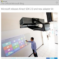 releases Kinect SDK 2.0 and new adapter kit - The Official Microsoft Blog