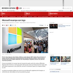 Microsoft revampe son logo